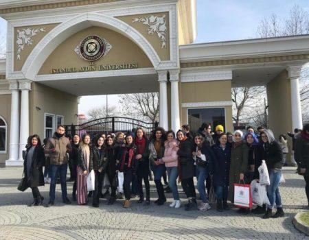 Aydın Üniversitesini Ziyaretimiz
