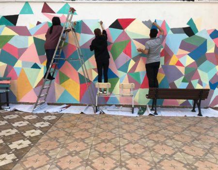 Öğrenciler Okulumuzu Renklendiriyor