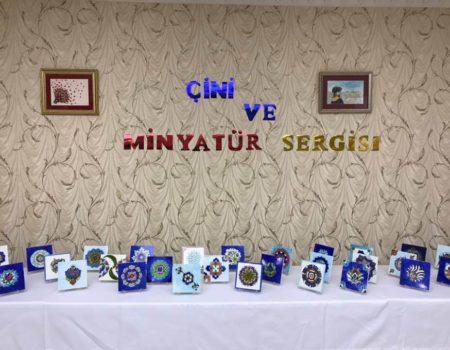 Çini ve Minyatür Sergisi.